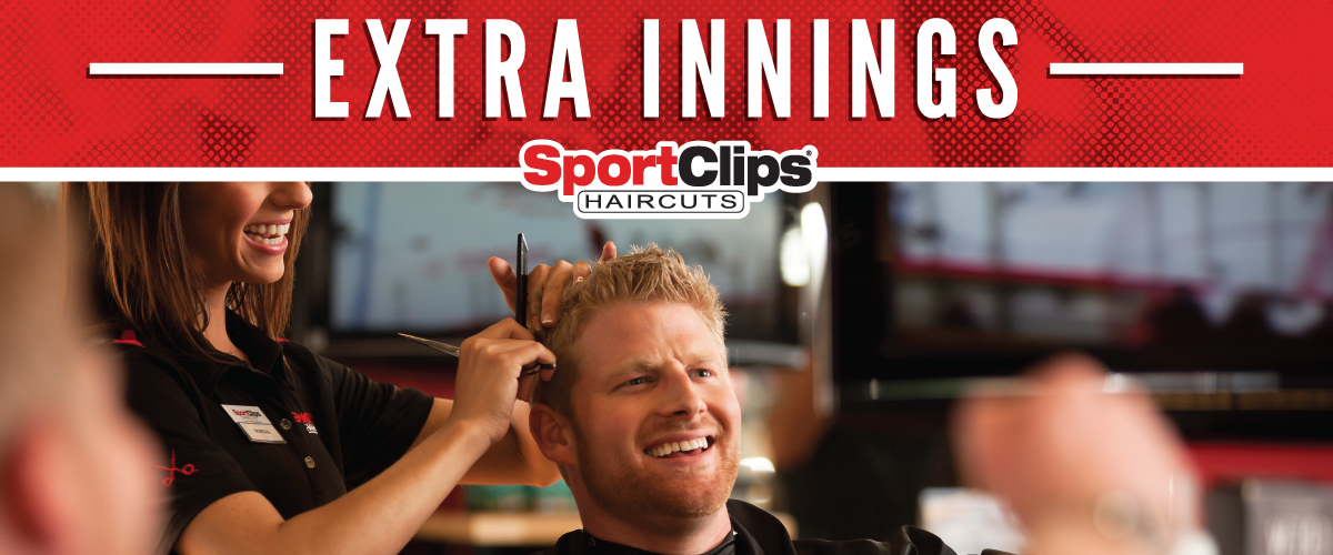 The Sport Clips Haircuts of Pembroke Pines Extra Innings Offerings