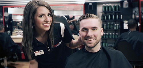 Sport Clips Haircuts of Pembroke Pines​ stylist hair cut